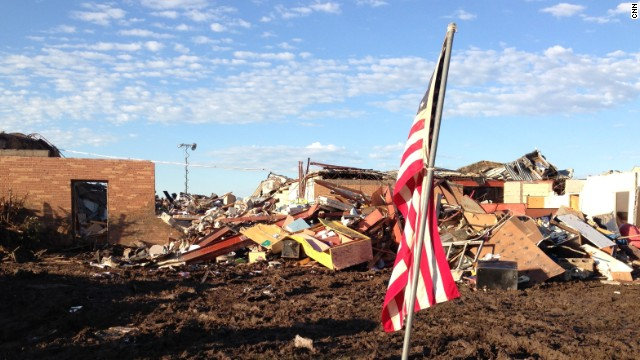 Plaza Towers Elementary in Moore, Oklahoma, was destroyed by a tornado in spring 2013.