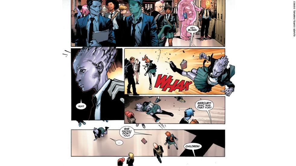 """Las mujeres se apoderan de """"X-Men"""""""