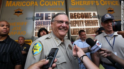 Arpaio told to stop racial profiling