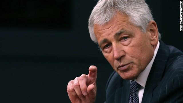 Secretary of Defense Chuck Hagel will trim his office budget by 20%, the same as the Pentagon's top brass.