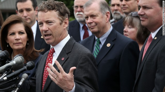 Rand Paul announces 2016 campaign