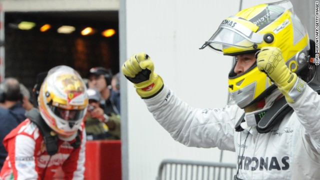 Nico Rosberg will attempt to win the Monaco Grand Prix 30 years after his father won the famed race.