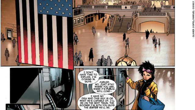 Jubilee is going to be a focus of the new series, according to writer Brian Wood.