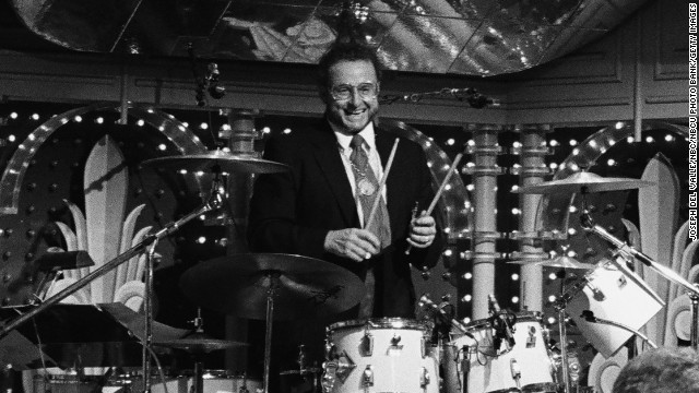 "<a href='http://www.cnn.com/2013/05/26/showbiz/ed-shaughnessy-dies/index.html'>Ed Shaughnessy</a>, the longtime drummer for ""The Tonight Show Starring Johnny Carson,"" died May 24. He was 84."