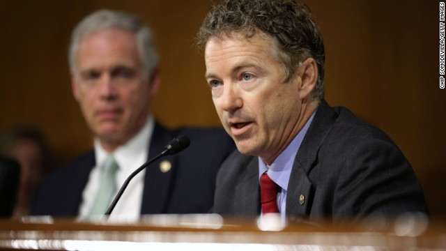 Paul continues threat to hold FBI director nomination