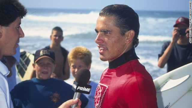 As a child growing up on the waves at Florida's Cocoa Beach, Slater never imagined surfing would be a career. By 1992, be had become the youngest world champion, aged just 20.