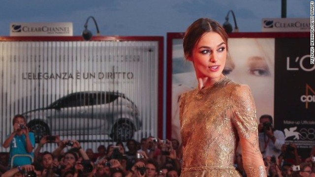 Keira Knightley is known for being incredibly private.