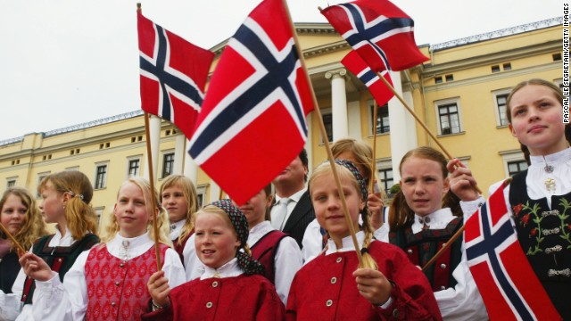 Norway is ranked as the second happiest country in the world, according to Columbia University's Earth Institute.