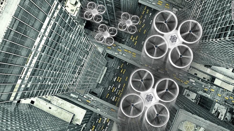 Mensajería rural vía drones