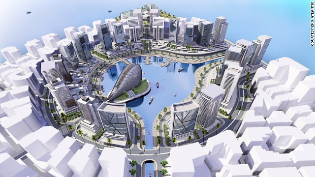 The new city is expected to provide accommodation for 250,000 people and employment opportunities for a further 150,000.
