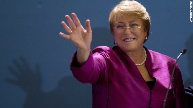 Can Bachelet lead Chile to change?