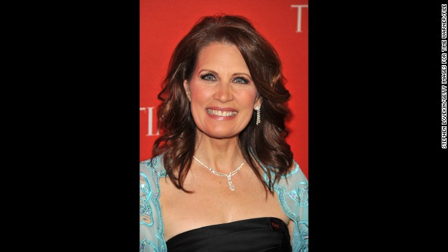 Bachmann attends the Time 100 Gala at Lincoln Center in New York in April 2011. The magazine <a href='http://www.time.com/time/specials/packages/article/0,28804,2066367_2066369_2066474,00.html' target='_blank'>named her one of the 100 most influential people </a>in the world that year.