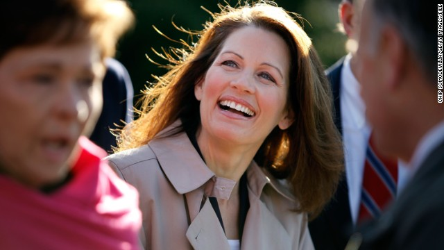 Bachmann joins fellow House Republicans at a December 2009 news conference outside the U.S. Supreme Court to blast Attorney General Eric Holder's decision to try Khalid Sheikh Mohammed and four other terrorist suspects in court in the United States. Holder later announced <a href='http://www.cnn.com/2012/04/04/us/khalid-9-11-charges'>the five would face a military trial at Guantanamo Bay, Cuba</a>.