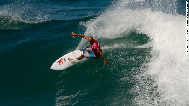 The greatest surfer: Kelly Slater