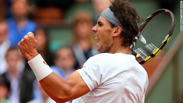 Spain's Rafael Nadal has won seven of the last eight French Open tournaments.