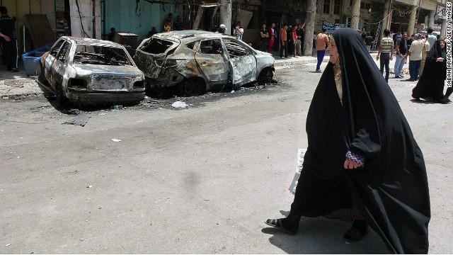 Más de 44 muertos y más de 100 heridos en una oleada de coches bomba en Bagdad