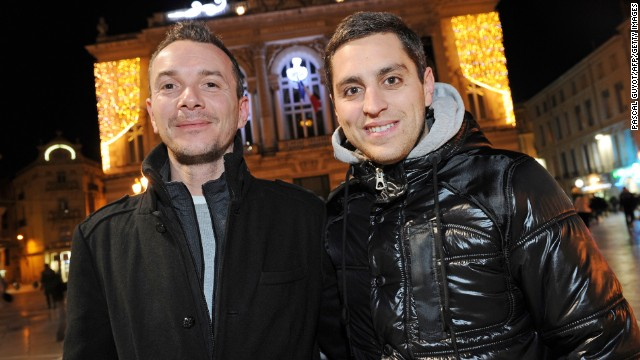 Vincent Autin (left) and Bruno Boileau: