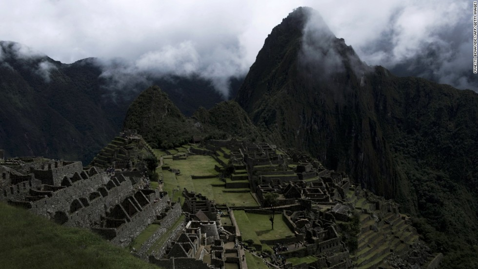 Machu Picchu, called the Lost City of the Incas, is a 15th-century settlement in Peru. The site is the leading tourist attraction in Peru, the third-largest country in South America.