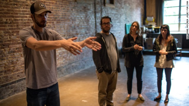 Ryan Hidinger and his team give a tour of the building in Atlanta, just a few blocks from the birthplace of Dr. Martin Luther King, Jr.