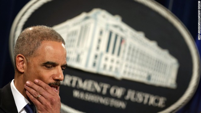 Holder calls for restoring ex-cons' voting rights