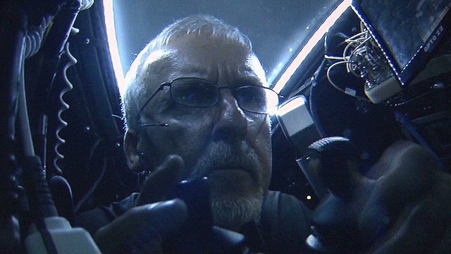 Explorer and filmmaker James Cameron travels to the bottom of the earth in his DeepSea Challenger sub.