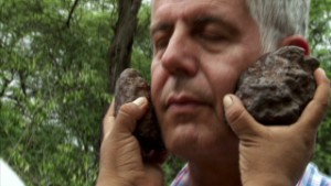 Shaman gives Bourdain a spiritual bath