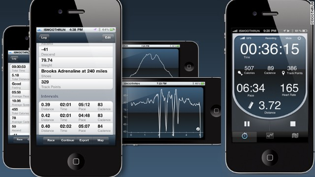 This training app is for data geeks. It connects with many other services, including RunKeeper, Strava, Garmin Connect and Tribesports, and can pair with wearable devices like cycling sensors and heart-rate monitors. <a href='http://www.ismoothrun.com' target='_blank'>iSmoothRun</a>'s graphs and stats are thorough and let you post data to Facebook and Twitter before, during or after a workout.
