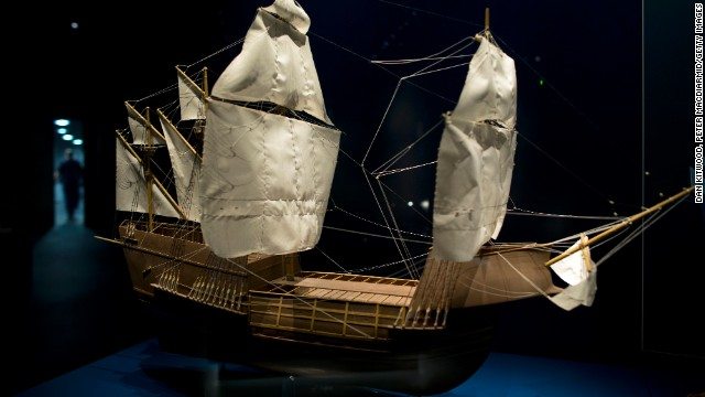 The Mary Rose was a warship of the Tudor navy of King Henry VIII. She sank in the Solent on 19 July 1545 during a battle with the French fleet. The king was there to watch the flagship of England's navy sink.