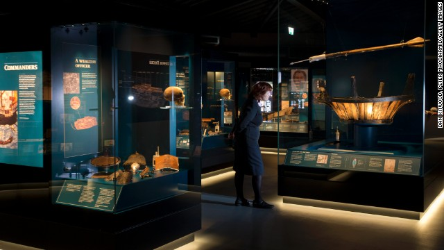 The museum opens more than 30 years after the hull of Mary Rose was raised from the Solent in 1982.