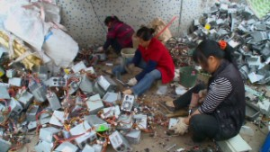 China: E-wastebasket of the world