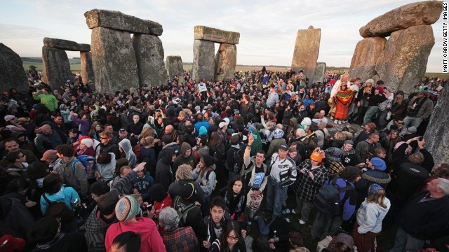 Teeming crowds. And most visitors don't get this close. But go anyway -- it's the crowning monument in a staggering archaeology-rich landscape and one of the most famous prehistoric monuments in the world.