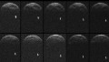 Large asteroid zips past Earth