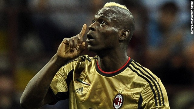 Milan striker Mario Balotelli, and Boateng, were racially abused by Roma fans during a match in May that was temporarily suspended because of the chanting.