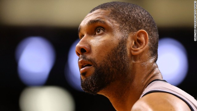 Duncan, pictured in February during a game against the Phoenix Suns, has led his team to the best winning percentage in any pro American sport during his time in the NBA.