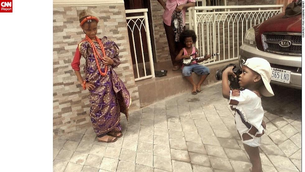 En la lente de Fuji, el fotógrafo de 3 años
