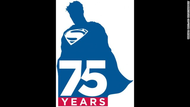 Superman gets a new logo for 75th anniversary