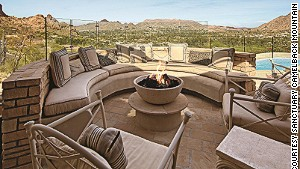 Because you\'ve always dreamed of a stone-paved, multi-level patio, the Casa Five suite at Sanctuary Camelback Mountain gives it to you.