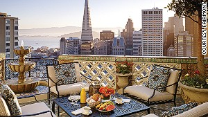 John F. Kennedy and Prince Charles are the caliber of guests who\'ve suited at the Fairmont Hotel San Francisco.