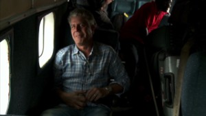 Bourdain travels in Congo