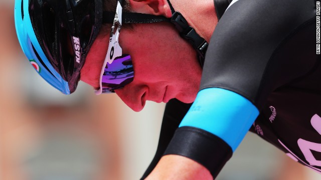 Wiggins was unable to defending the Tour de France title he won in 2012 due to an underlying knee injury that was exacerbated during his aborted Giro d'Italia campaign.