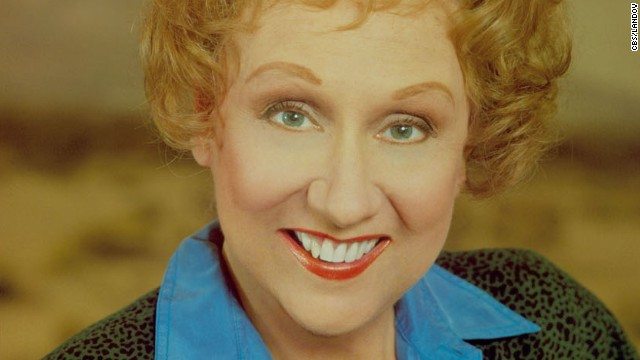 Actress Jean Stapleton, best known for her role as Archie Bunker's wife, Edith, in the groundbreaking 1970s TV sitcom