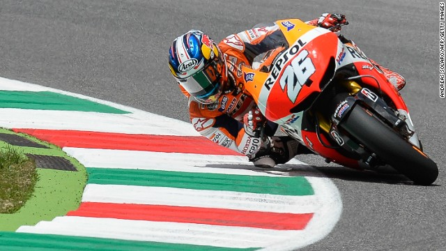 Spanish motorcyclist Dani Pedrosa is seeking to win at Mugello for the first time since 2010.