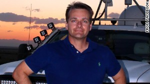 TWISTEX team member Carl Young was killed Friday, along with Tim and Paul Samaras, while chasing a tornado.