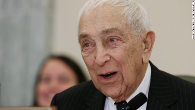 Democratic Sen. Frank Lautenberg of New Jersey died June 3 of viral pneumonia, his office said. Lautenberg, 89, had been the Senate's last surviving veteran of World War II.