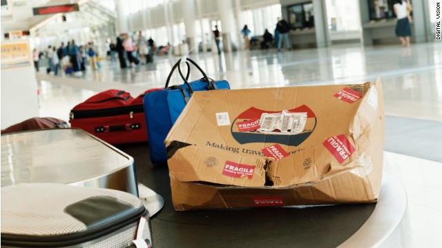The number of mishandled bags per person in the U.S. increased in 2013, as did fees to check them.