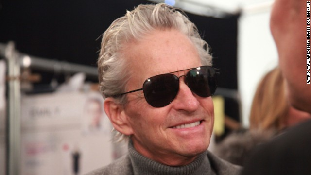 "Michael Douglas offers some interesting insight as to how he may have developed the throat cancer that he was diagnosed with in August 2010. Douglas later told the ""Today"" show that his tumor was gone."
