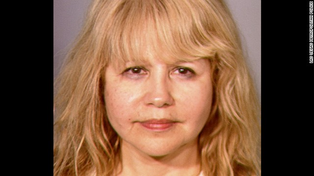 <a href='http://www.cnn.com/2013/06/03/showbiz/pia-zadora-arrest/index.html'>Singer-actress Pia Zadora</a> was charged with domestic violence battery and coercion for allegedly scratching her 16-year-old son's ear as she tried to take his cell phone when he dialed 911 on June 1, 2013, according to a Las Vegas Metropolitan Police report.