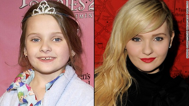 "One minute, Abigail Breslin was a 10-year-old ""Little Miss Sunshine,"" and the next thing we know, she's flashing her bra in 2011's ""New Year's Eve."" The actress is now grown-up enough to take on the older sister role, as she did in the 2013 release ""Ender's Game."""