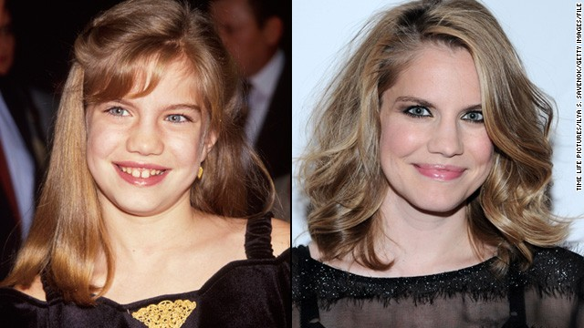 "Anna Chlumsky became a star at age 11 thanks to her role in 1991's ""My Girl."" After sporadic appearances on TV, the now 33-year-old, who welcomed her first child in 2013, has landed a hit comedy with HBO's ""Veep."""