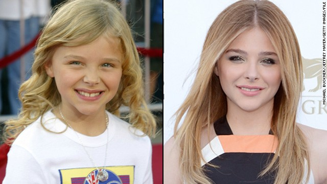 "Chloë Grace Moretz was a ""Kick-Ass"" actress even as a kid, starring in movies like ""The Amityville Horror"" at age 8. Now 17, Moretz has ditched the Shirley Temple curls but not her action moves -- the star appeared in the ""Kick-Ass"" sequel in 2013."